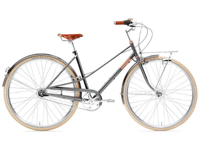 Creme Caferacer Doppio Citybike grå